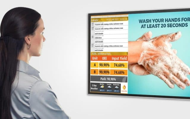 How Digital Signage Can Help Gyms Reopen After Covid