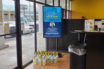 Digital Billboard at The ZOO Health Club - Savannah, GA